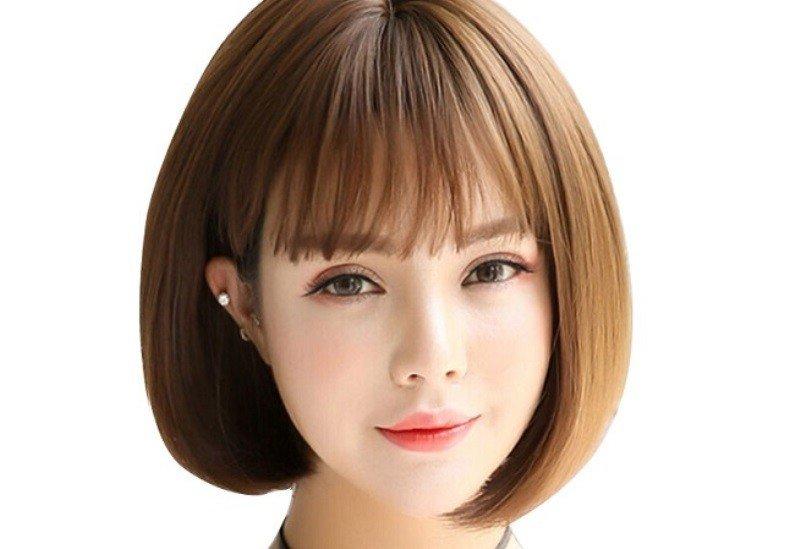 Kiểu tóc nữ đẹp mặt tròn
