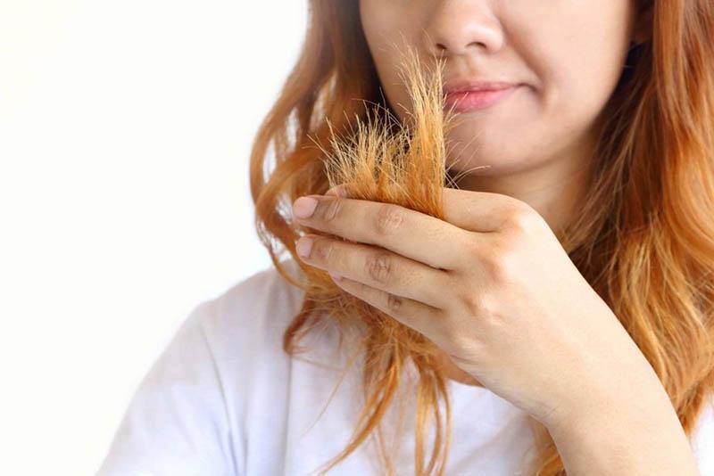 Chăm sóc tóc tẩy