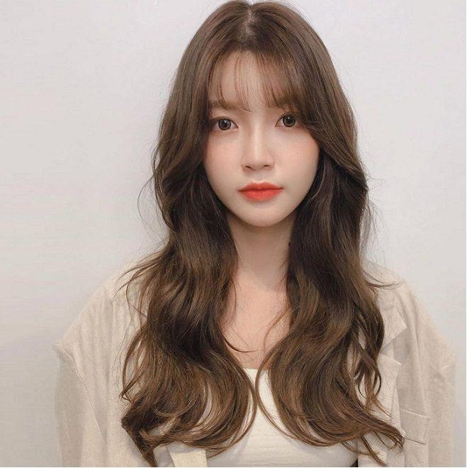 Kiểu tóc nữ đẹp mặt dài