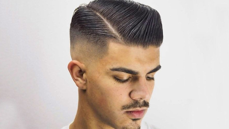 Kiểu tóc side part nam