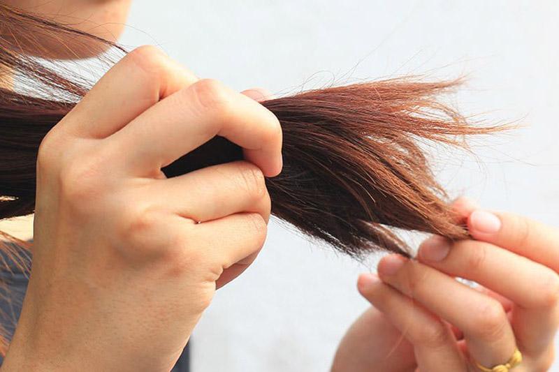 Cách làm tóc không bị chẻ ngọn